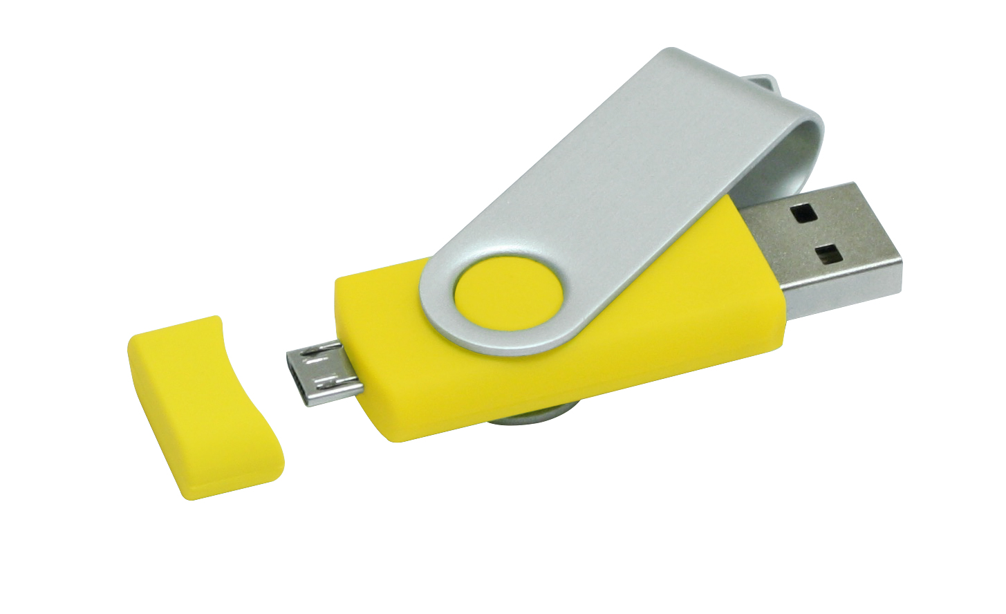 Twister USB stick met micro USB